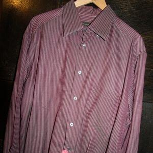 Ermenegildo Zegna Button Down Dress Shirt